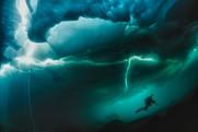Under iceberg Switzerland
