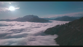 Cloud over the lake-Switzerland.mov