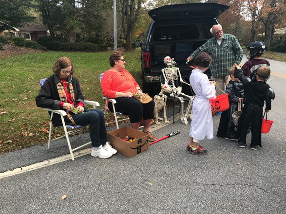 Halloween 2017, one of many events