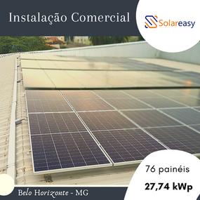 Energia Solar Comercial em Belo Horizonte