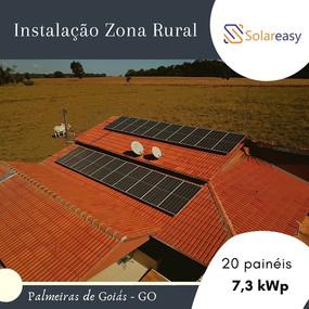 Energia Solar Zona Rural