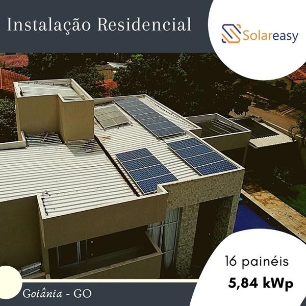 Energia Solar Residencial em Goiâniaa