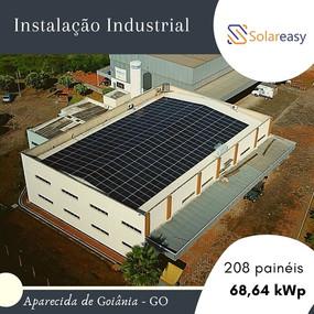 Energia Solar  Industrial em Aparecida de Goiânia