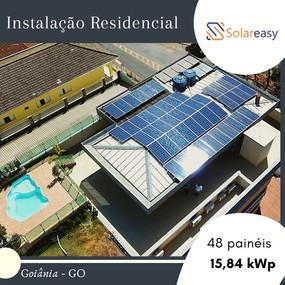 Energia Solar Residencial em Goiânia