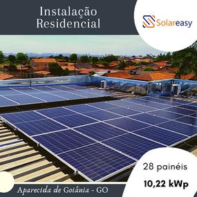 Energia Solar Residencial em Aparecida de Goiânia
