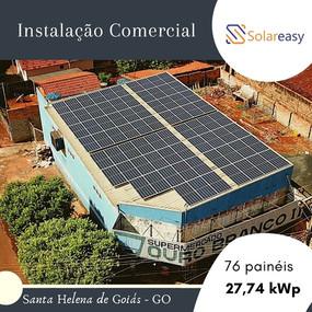 Energia Solar  Comercial em Santa Helena de Goiás