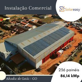 Energia Solar  Comercial em Abadia de Goiás