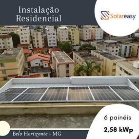 Energia Solar Residencial em Belo Horizonte