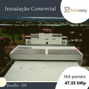 Energia Solar Comercial em Brasília