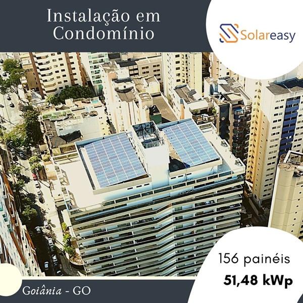 Energia Solar Condomínio