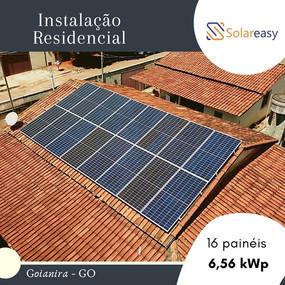Energia Solar Residencial em Goiânira