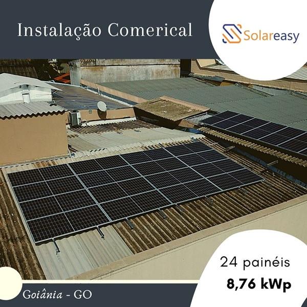 Energia Solar Comercial em Goiânia