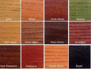 Sistre Cila Renkleri