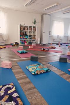 Yogastudion på Hrönns Massage & Qinopraktik