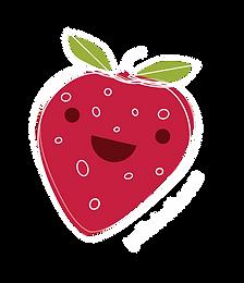 fruitsticker_3.0_Strawberry sticker_no_d