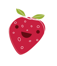 fruitsticker_3.0_Strawberry sticker_no_d
