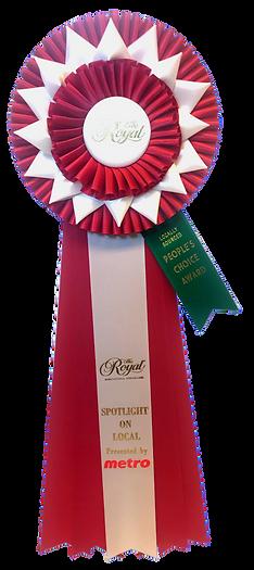People's Choice Award Winner Yellofruit Royal Winter Fair