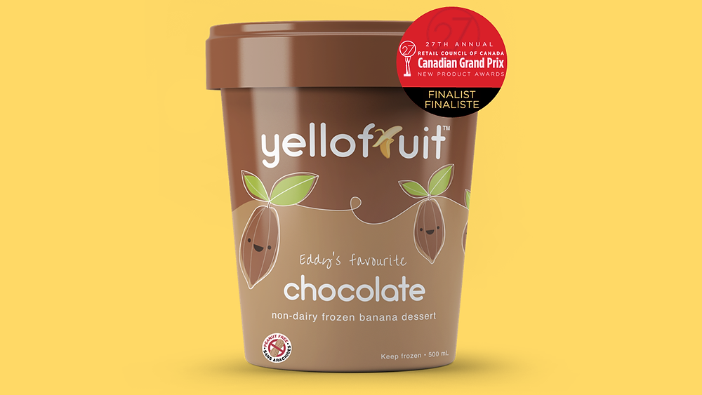 RCC Grand Prix New Product Awards Finalist 27th Annual Yellofruit Chocolate