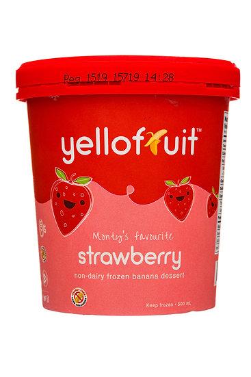 Yellofruit - Monty's Favourite Strawberry (8pk)