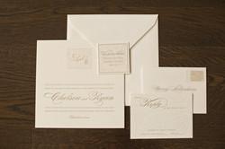 Elegant invitation package