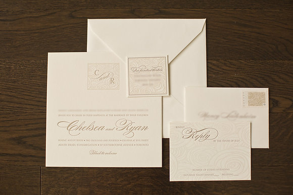The Elegant Invitation Package (Complete Package)