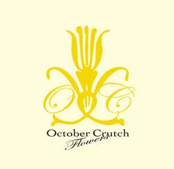 花屋 October Crush Flowers 様 ロゴ