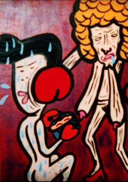 「ボクシングと鍋」1997