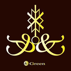 美容室 &Green 様 ロゴ