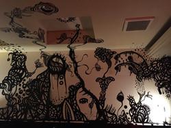2016 某BAR店内360°壁画