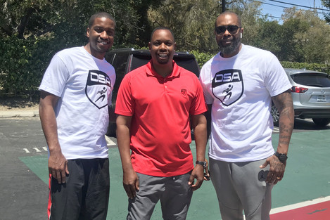 Anthony Goods, Jimmy Thomas (Président DSA America) et Thomas Blunt