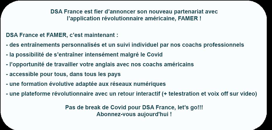 FAMER / DSA France