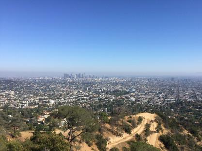 Vue de la randonnée des collines d'Hollywood