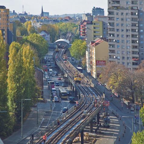 Feste Fahrbahn, Berlin