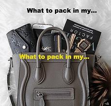 Dudas a la hora de hacer tu maleta
