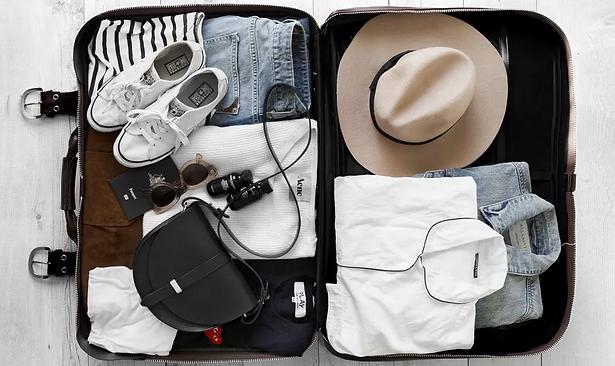 Orden ideal para una maleta organizada