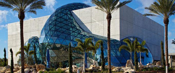 The Dali Museum's Geodome.