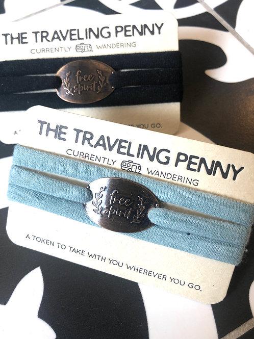 THE TRAVELING PENNY - bracelets