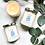Thumbnail: Blue Chalcedony Crystal Candle - Calming
