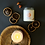 Thumbnail: Peach Quartz Crystal Candle - Inner Peace