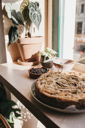 Sonne und Kuchen