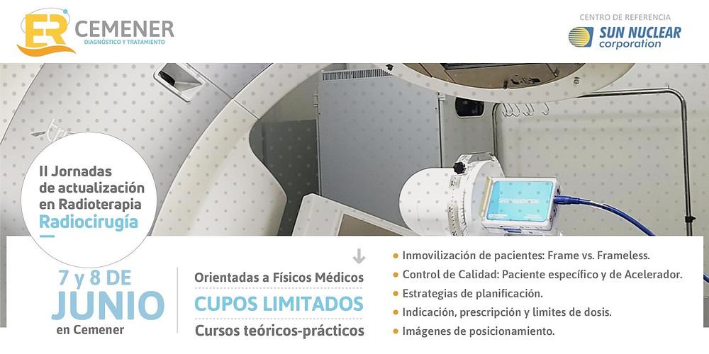 Centro de Medicina Nuclear y Molecular Entre Ríos ›  II Jornadas de actualización en Radioterapia - Radiocirugía