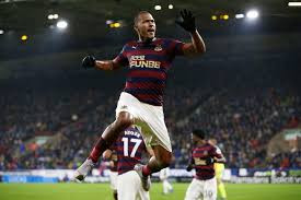 Rondon scored the winner when the two sides met in December. Picture courtesy of The Premier League.
