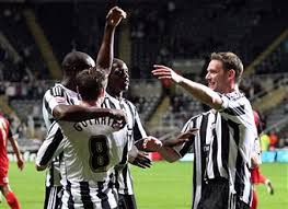 Friend of the channel, Kevin Nolan celebrating his winning goal against the Terriers in August 2009. Picture courtesy of Getty Images.