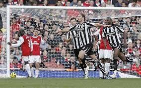 Head to Head records: Away v Arsenal