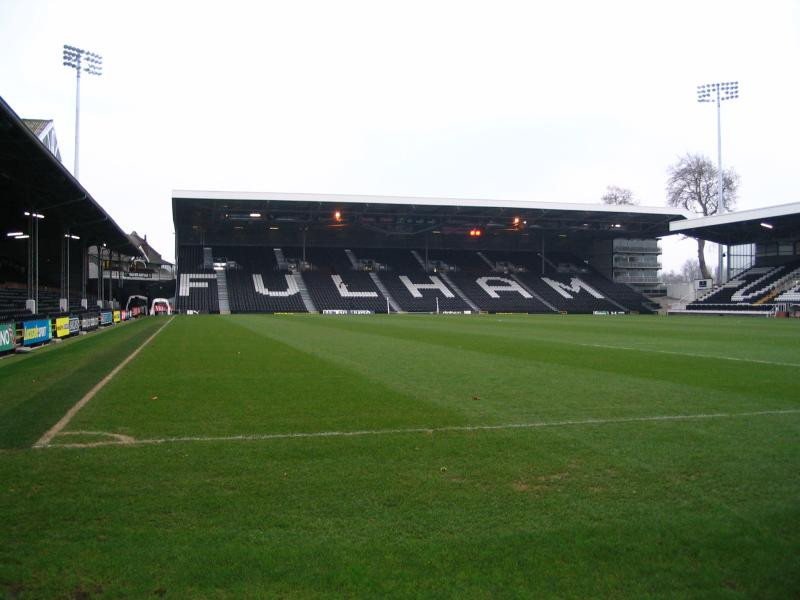 Craven Cottage will be the venue of our final day fixture. Picture courtesy of Stadium Guide.
