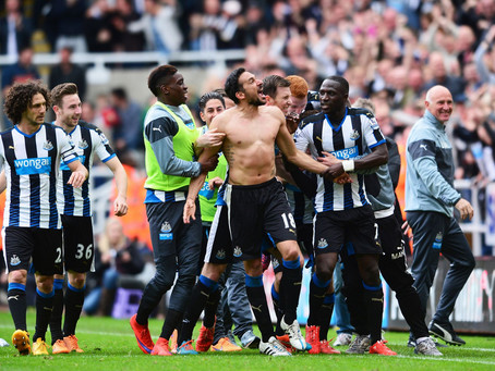 The best NUFC matches since August 1992 (10-6)