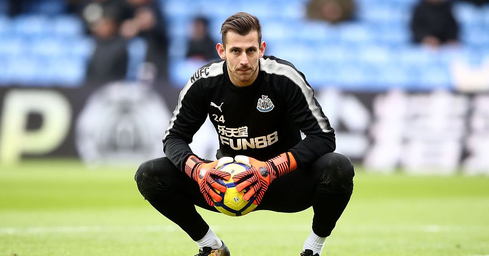 Martin Dubravka prevented Watford carrying out an onslaught on us on Saturday. Picture courtesy of The Chronicle.