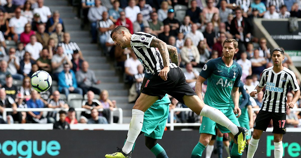 Joselu scored in the reverse fixture on the opening day. Picture courtesy of The Chronicle.