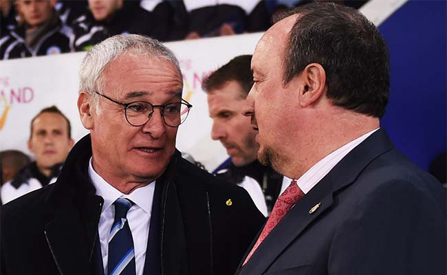 The two managers are meeting for the first time since Benitez's first match in charge of Newcastle. Picture courtesy of The Mag.