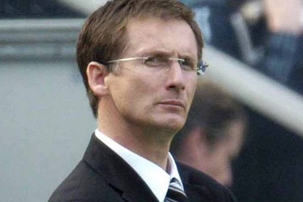 Is it just me or does Glenn Roeder look like Anne Robinson in this photo? Picture courtesy of The Chronicle.